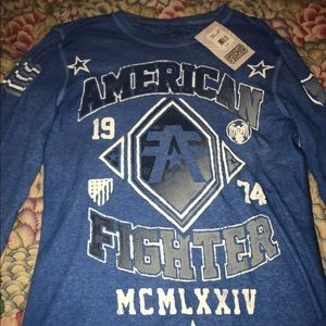 American fighters long sleeve shirt size L